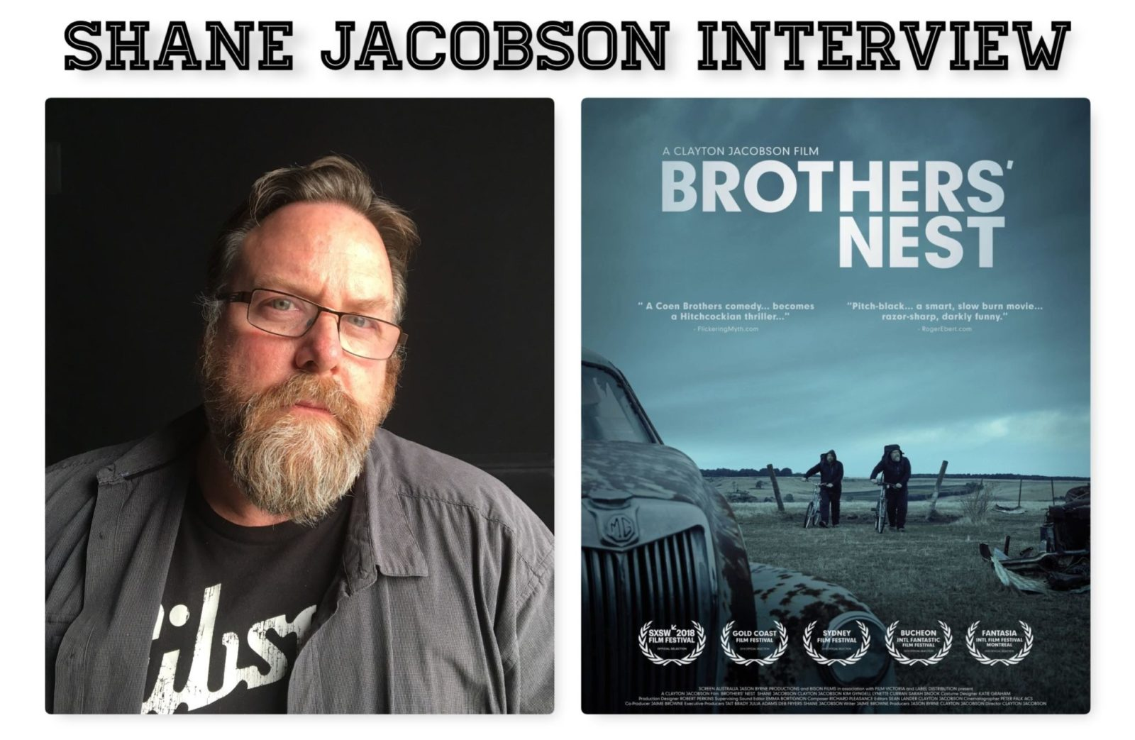 Shane Jacobson Interview