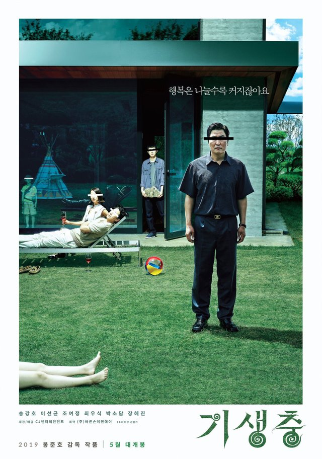 New Dark Asian Movies - Parasite- South Korea