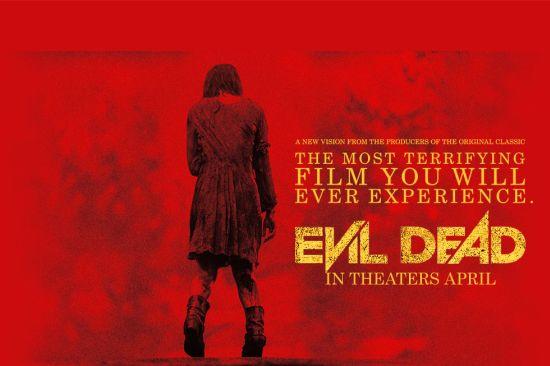 Evil Dead theatrical poster Google search