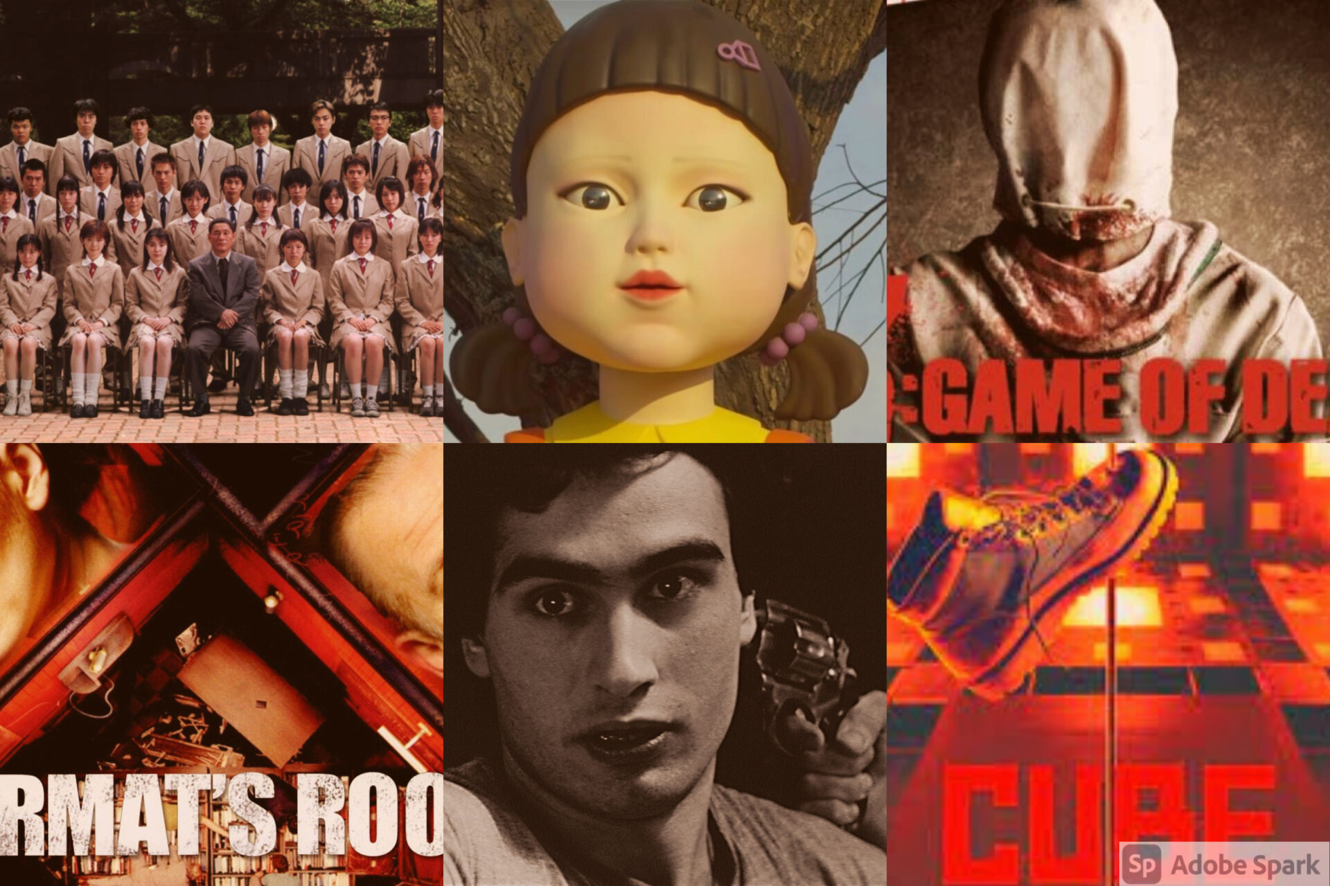 Game of Death: The Best Survival Horror and Series'
